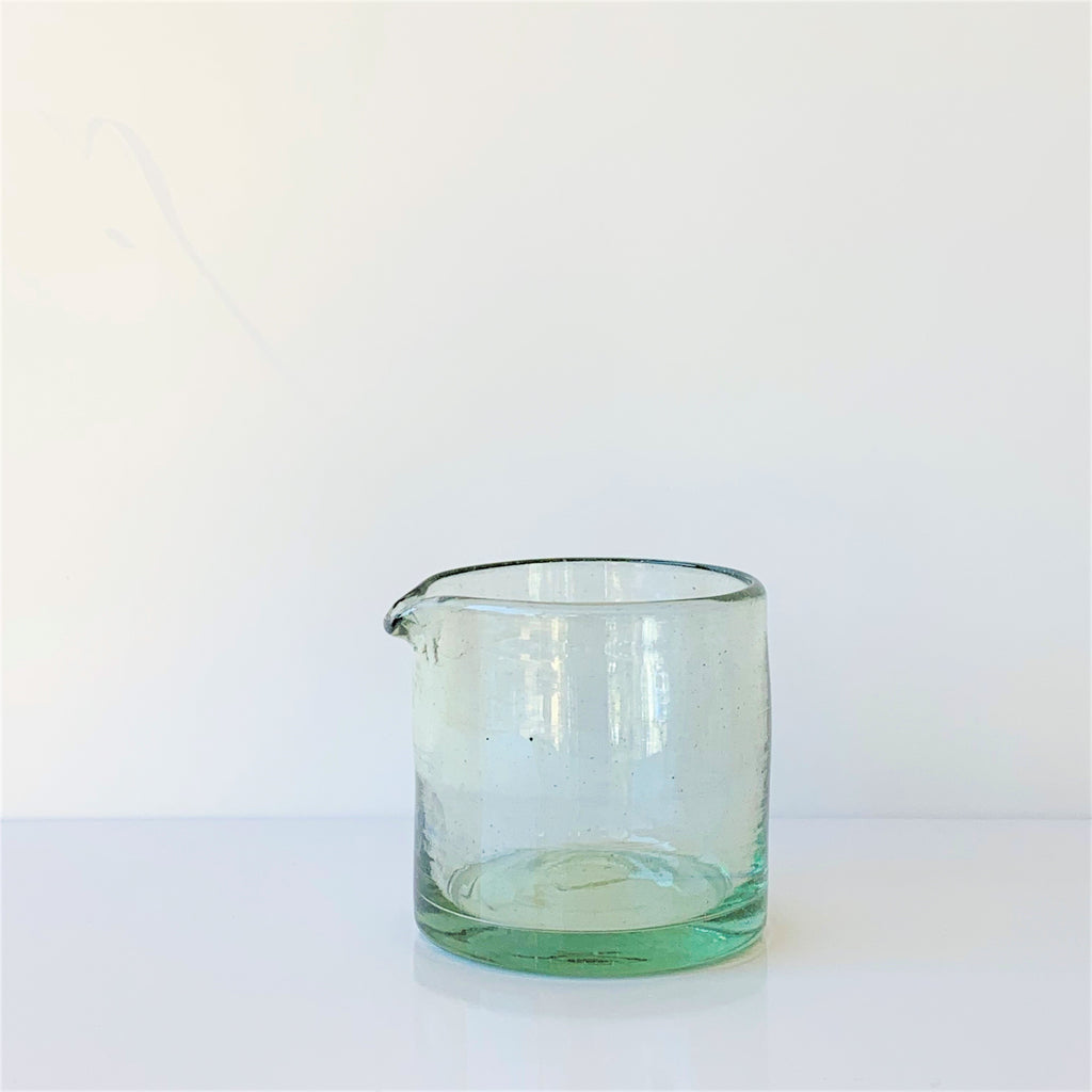 Recycled Glass Jug - Small **Imperfect - the source