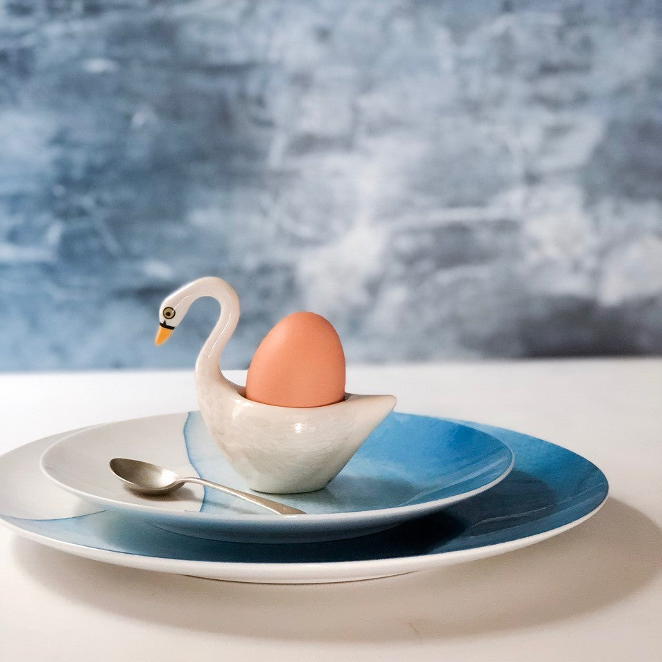 Egg cup White Swan - the source
