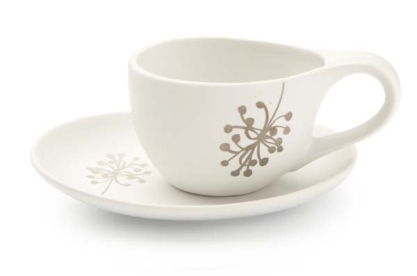 Botanical Cup & Saucer - Dandelion - the source