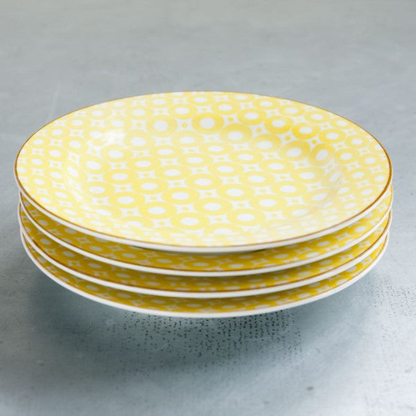 Elements Plate -Yellow - the source
