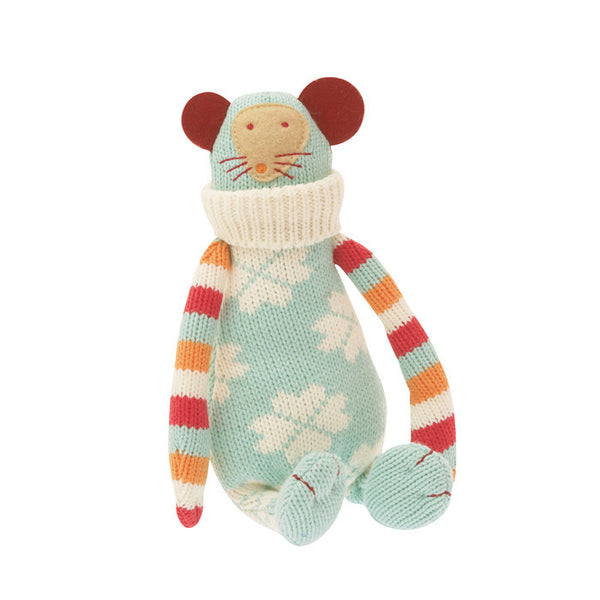 Grannies knitted Mouse - the source