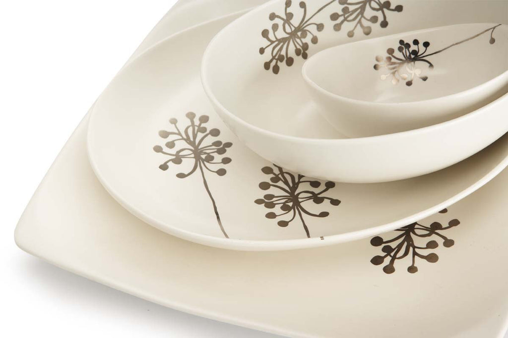 Botanical Oval Plate - Dandelion M - the source