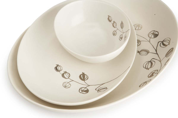 Botanicals Gooseberry Oval Plate Large - the source