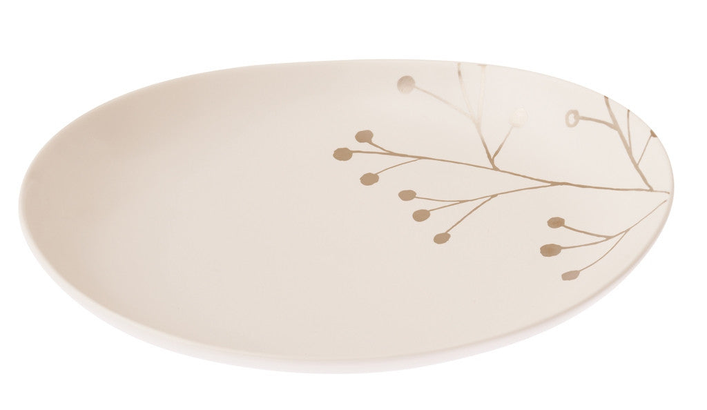 Botanical Oval Plate - Blossom L - the source