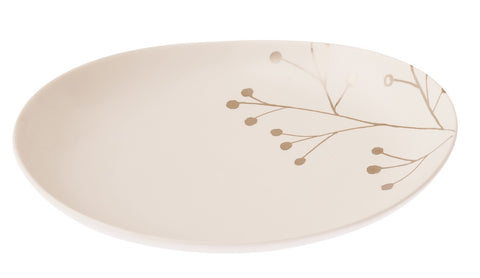 Botanicals Blossom Oval Plate Large - the source