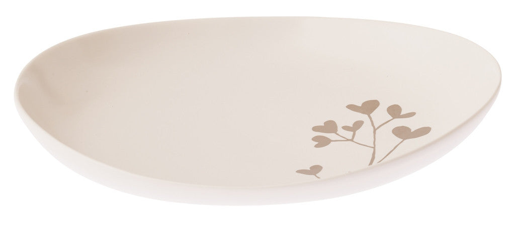 Botanical Oval Plate - Clover L - the source