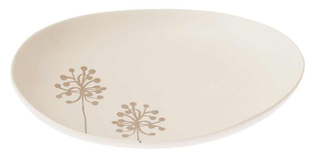 Botanicals Dandelion Oval Plate Large - the source