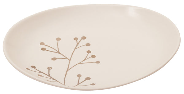Botanicals Blossom Oval Plate Small - the source