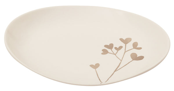 Botanicals Clover Oval Plate Small - the source