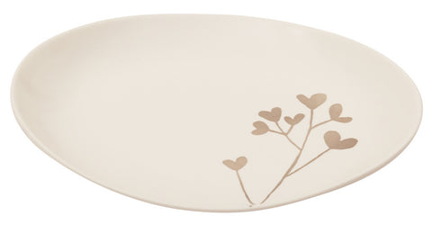 Botanicals Clover Oval Plate Med - the source