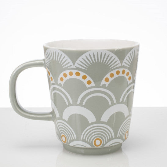 Vintage Pattern Mug -  Mist - the source