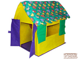 Bazoongi Kid's Cottages Stuffed Animal Roof - Playhouse of Dreams  - 2