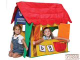 Bazoongi Learning Cottage Play Tent - Playhouse of Dreams  - 1