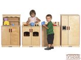 Birch 4 Piece Play Kitchen Set - Playhouse of Dreams  - 1