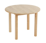 "30"" Round Hardwood Table with 18"" Legs - Playhouse of Dreams  - 3"