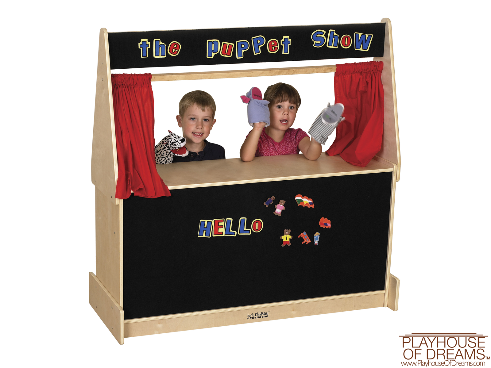 Puppet Theater - Flannel - Playhouse of Dreams  - 1