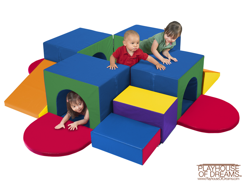 SoftZone Tunnel Maze - Playhouse of Dreams  - 1