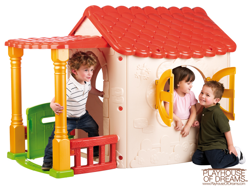 Lake Cottage Children's Playhouse - Playhouse of Dreams  - 1