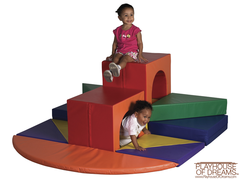 SoftZone High Rise Climber - Playhouse of Dreams  - 1