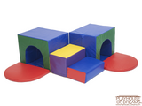 Softzone Corner Tunnel Maze - Playhouse of Dreams  - 2