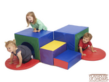 Softzone Corner Tunnel Maze - Playhouse of Dreams  - 1