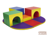 Softzone Triple Tunnel Maze - Playhouse of Dreams  - 2