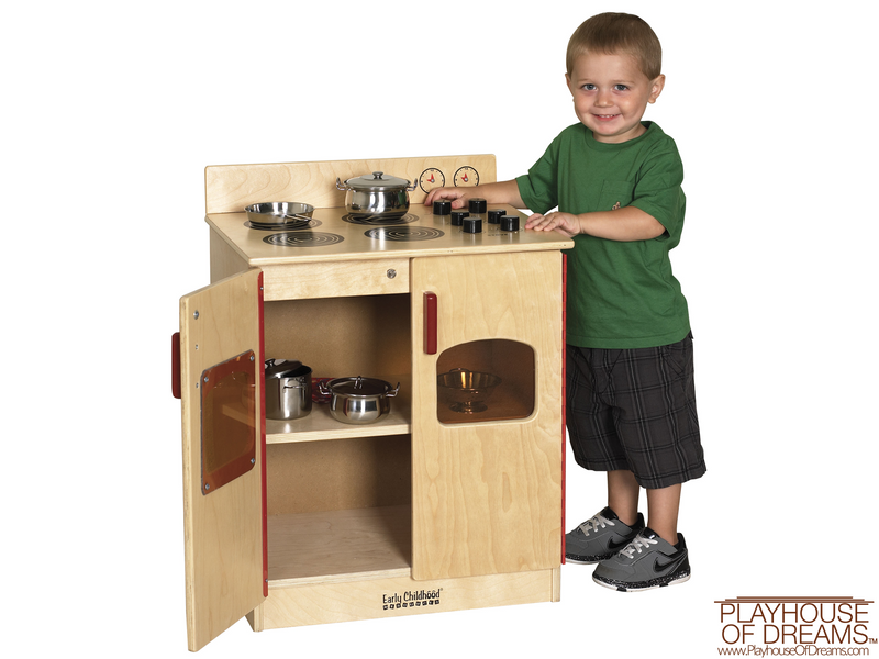 Birch Play Kitchen - Stove - Playhouse of Dreams  - 1