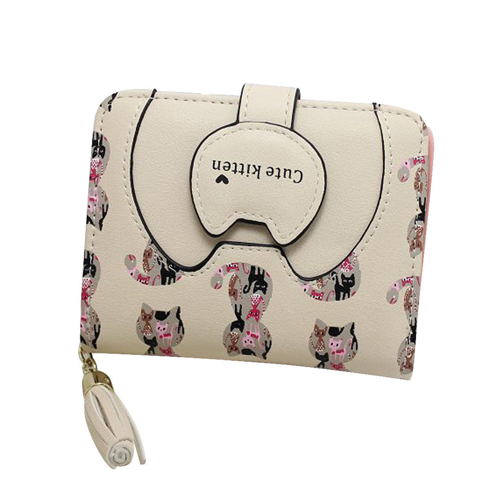 Cute Kitten Women Purse