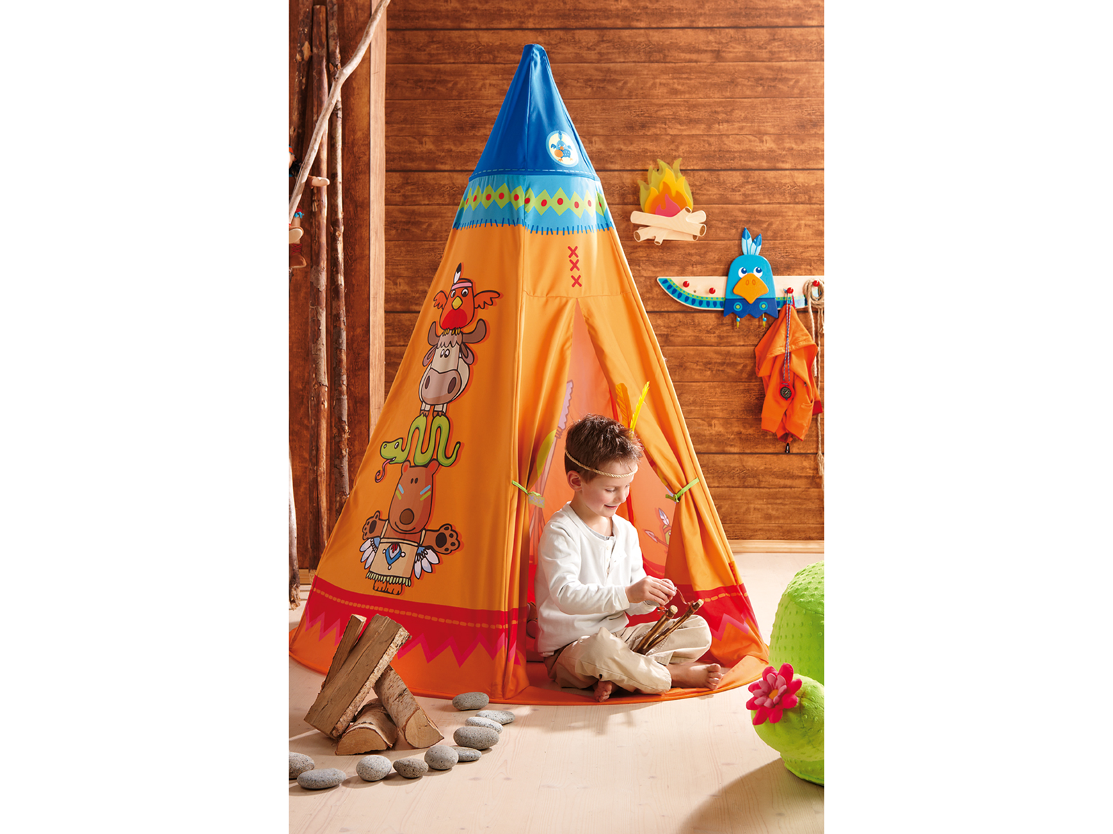 Haba Tepee Play Tent - Playhouse of Dreams  - 1