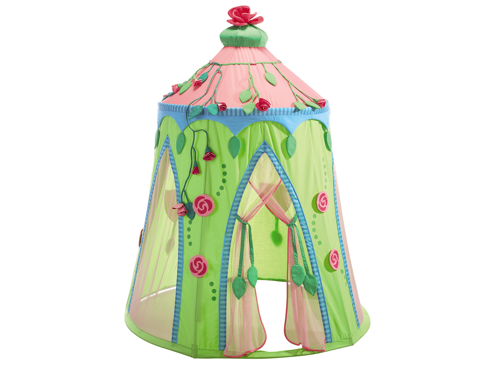 Haba Rose Fairy Play Tent - Playhouse of Dreams  - 4