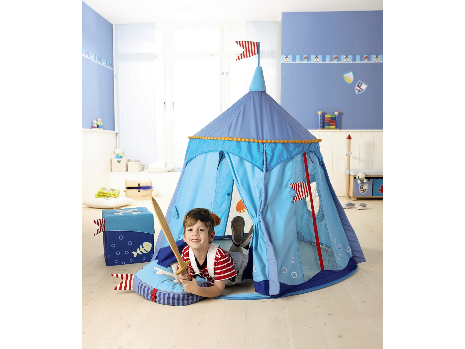 Haba Pirate's Treasure Play Tent - Buy Online - Playhouse of Dreams  - 1