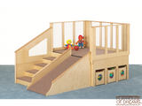 Tiny Tots Loft - Playhouse of Dreams  - 2