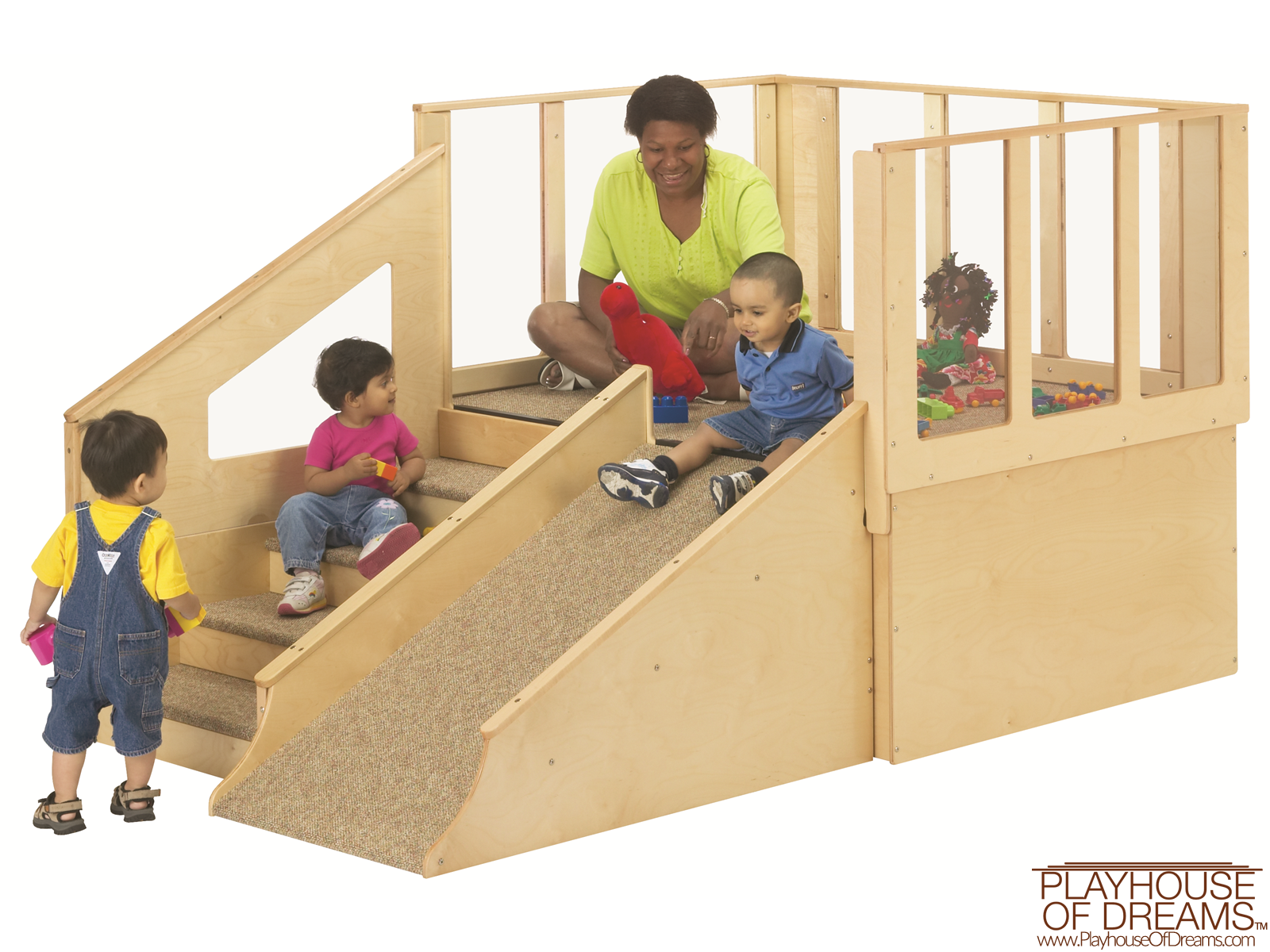 Tiny Tots Loft - Playhouse of Dreams  - 1