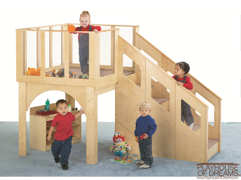 Tots Loft - Playhouse of Dreams  - 1