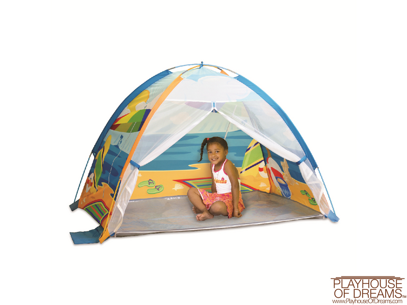 Seaside Beach Cabana - Pacific Play Tent - Playhouse of Dreams  - 1