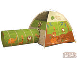 """Jungle Safari"" Tent/Tunnel Combination - Pacific Play Tent - Playhouse of Dreams  - 2"