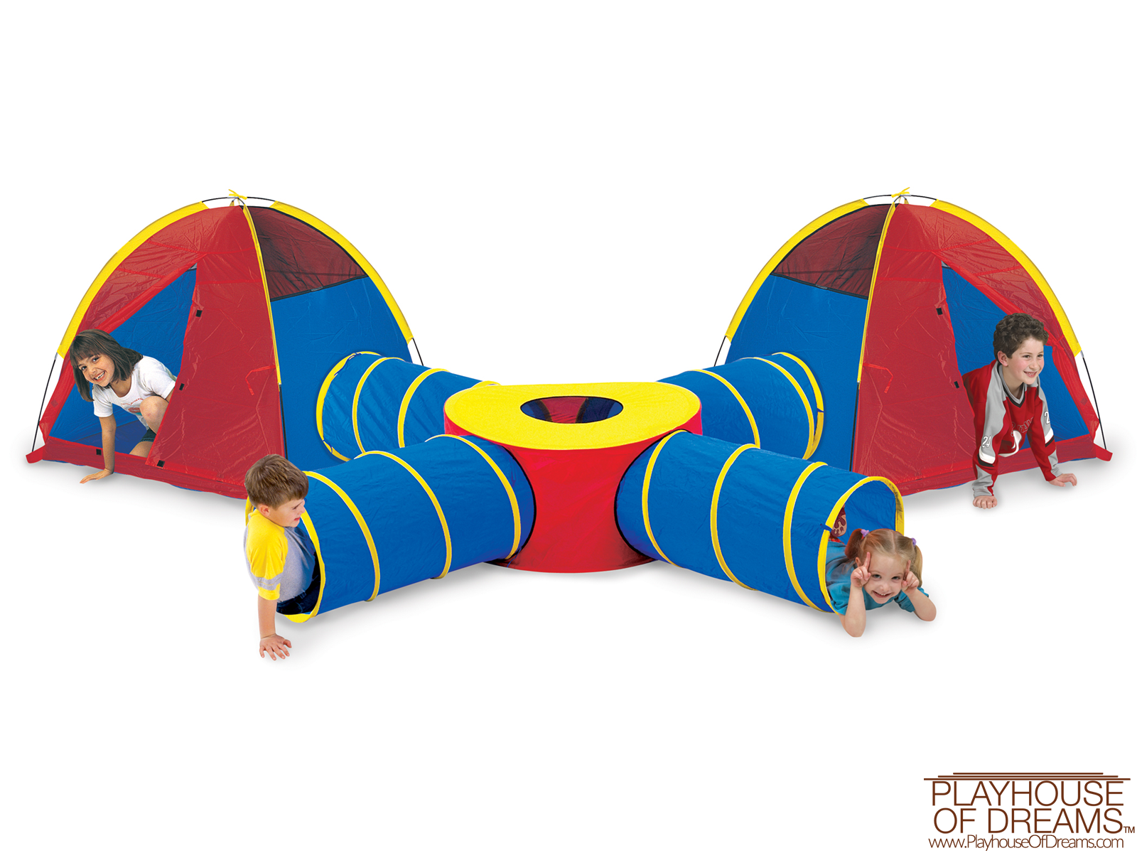Tunnels of Fun - Pacific Play Tent - Playhouse of Dreams  - 1