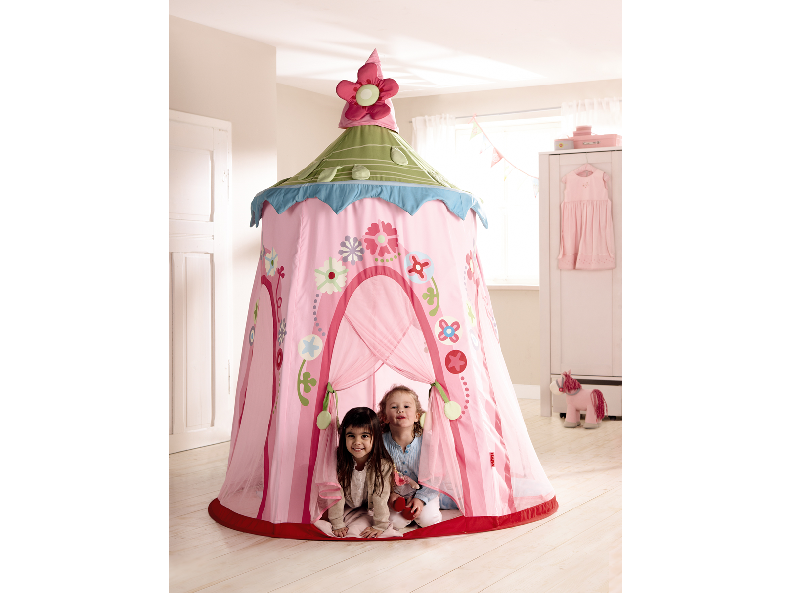 Haba Floral Wreath Play Tent - Playhouse of Dreams - 1 ...  sc 1 st  Playhouse of Dreams & Haba Rose Fairy Play Tent - Buy Online - Playhouse of Dreams