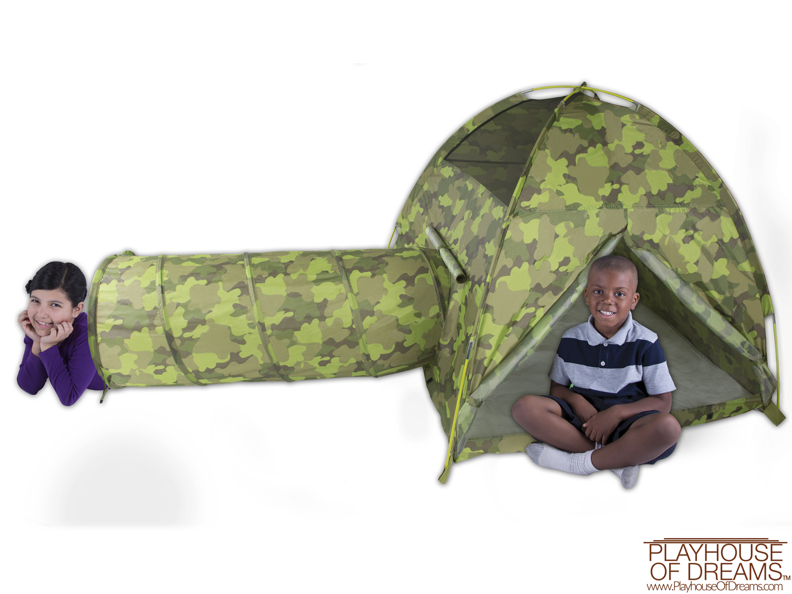 Command HQ Tent & Tunnel Combo - Pacific Play Tent - Playhouse of Dreams  - 2