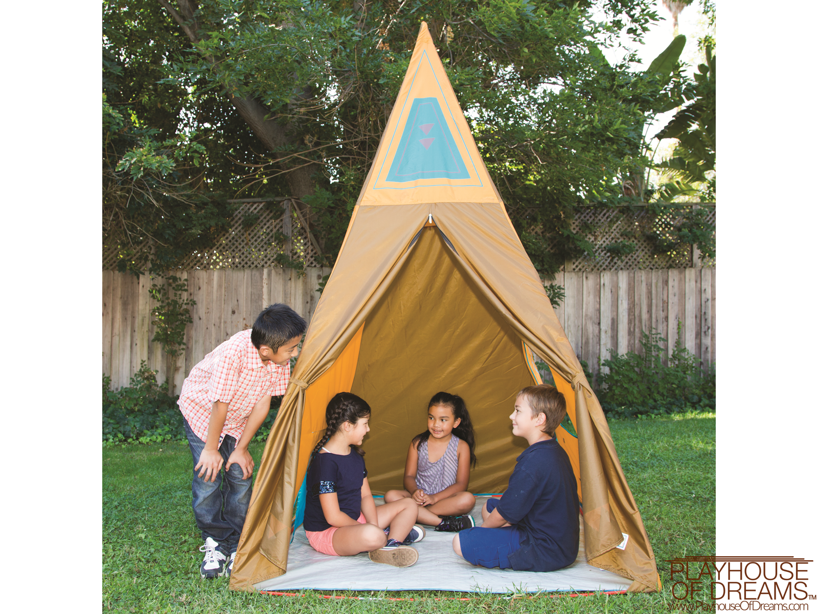 Giant Tee Pee - Pacific Play Tent - Playhouse of Dreams  - 3