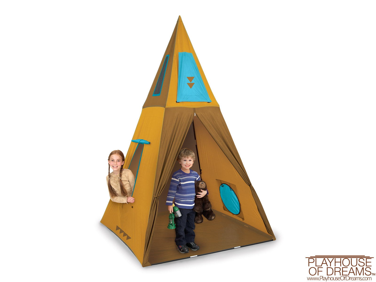 Giant Tee Pee - Pacific Play Tent - Playhouse of Dreams  - 1
