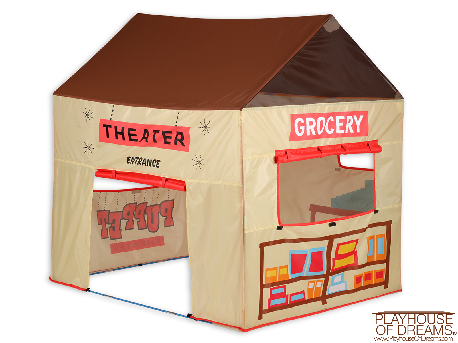 ... Grocery Theater Tent - Pacific Play Tent - Playhouse of Dreams - 6 ...  sc 1 st  Playhouse of Dreams & Grocery Theater Tent - Buy Online - Pacific Play Tent - Playhouse ...