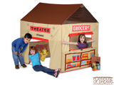 Grocery Theater Tent - Pacific Play Tent - Playhouse of Dreams  - 1