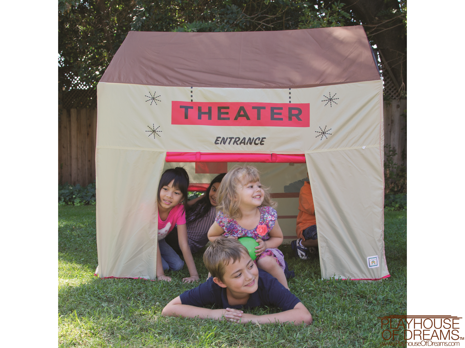 Grocery Theater Tent - Pacific Play Tent - Playhouse of Dreams  - 16