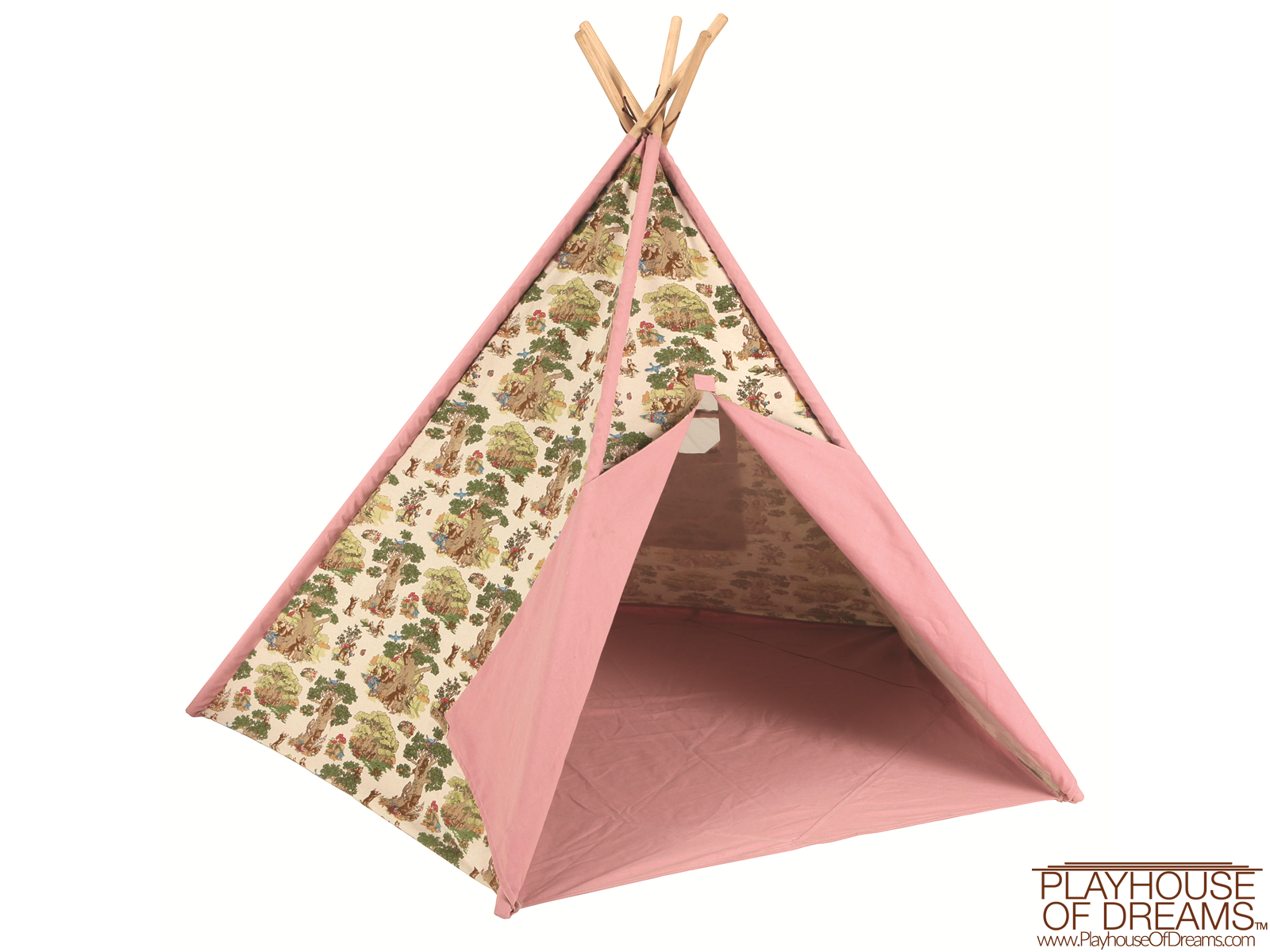 Fabric Tee Pee - Pacific Play Tent - Playhouse of Dreams  - 5