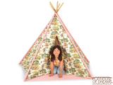 Fabric Tee Pee - Pacific Play Tent - Playhouse of Dreams  - 4