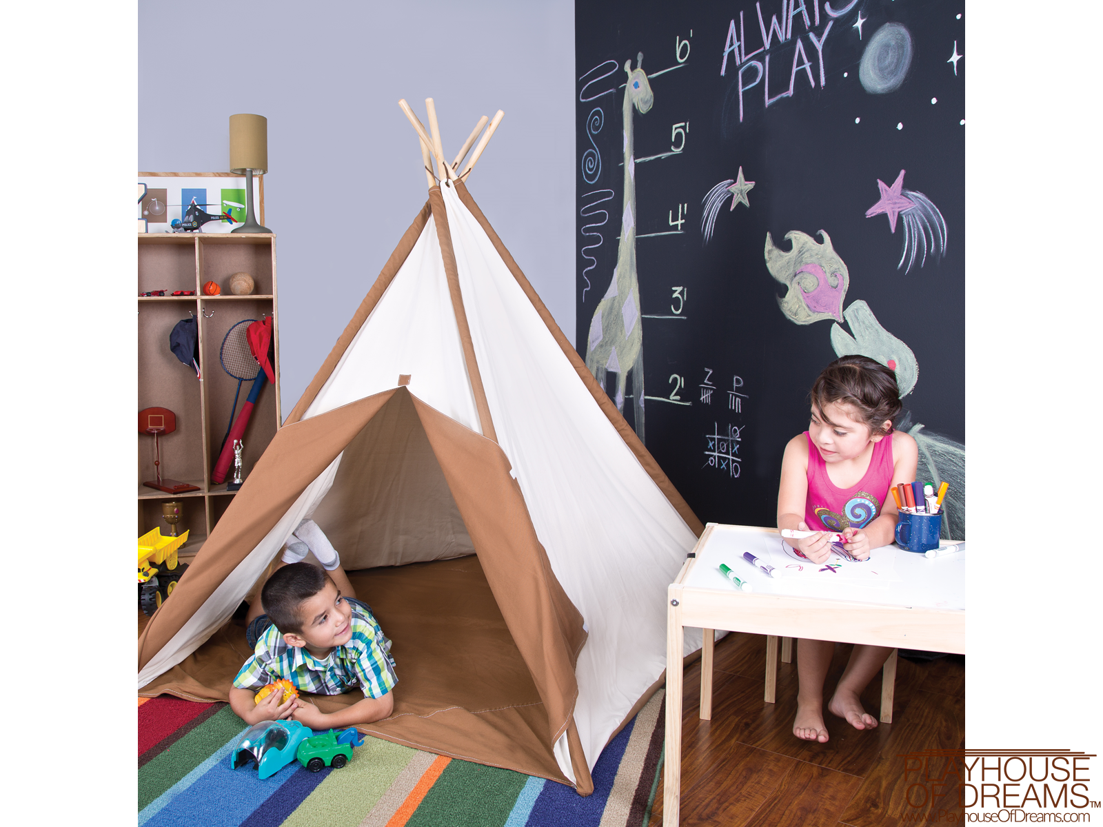Authentic Tee Pee - Pacific Play Tent - Playhouse of Dreams  - 6