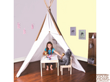 Giant Cotton Canvas 8' Tee Pee - Pacific Play Tent - Playhouse of Dreams  - 3