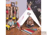 Southwest Cotton Canvas Tee Pee - Pacific Play Tent - Playhouse of Dreams  - 6