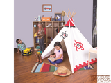 Southwest Cotton Canvas Tee Pee - Pacific Play Tent - Playhouse of Dreams  - 5